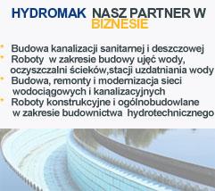 Hydromak - Budowa Kanalizacji sanitarnej i deszczowej